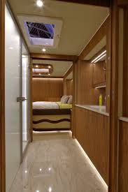 volkner volkner mobil luxury motorhome features a built in garage under