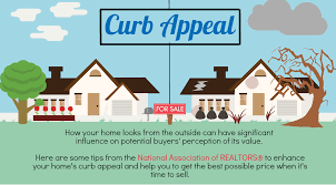 Tips For Curb Appeal - infographic improving a home u0027s curb appeal