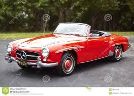 mercedes convertible mercedes convertible classic car editorial stock image image