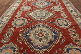 new shirvan collection red super kazak 10 u0027x14 u0027 hand knotted wool