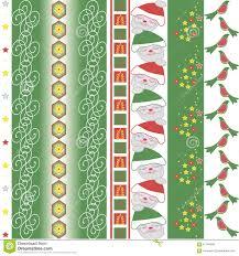 christmas vector border stock vector image 61164536
