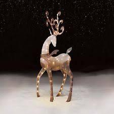 lighted reindeer ebay