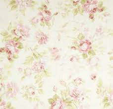 Shabby Chic Upholstery Fabric by Chic Rose Sprays Fabric