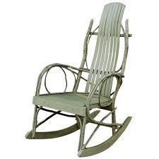 Rocking Adirondack Chair Plans Twig Rocking Chair Design Home U0026 Interior Design