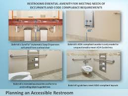 Ada Guidelines Bathrooms Current Ada And Icc Compliance Data An Introduction To Bobrick U0027s