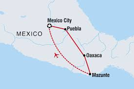 Mexico City Airport Map Mexico Real Food Adventure Overview Mexico Real Food Adventure En Us