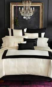Black And White Bedroom Design Black White And Gold Color Scheme Interiors 24 Photos Messagenote