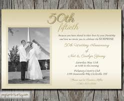 50th anniversary ideas cool wedding anniversary invitation cards remarkable with 50th