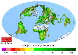 Marrakech Map World by Rising Co2 Has U0027greened U0027 World U0027s Plants And Trees Carbon Brief