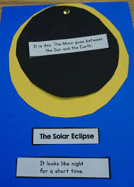 easy and fun craft for showing kids how a solar eclipse works