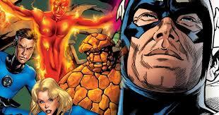 fantastic return marvel comics cosmic book