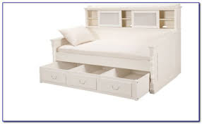 White Bookcase Daybed Cody Bookcase Daybed With Trundle Bookcases Home Design Ideas