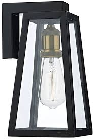Black Exterior Light Fixtures Gorgeous Black Exterior Lights In Dar Duval Traditional 1 L
