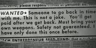 Safety Not Guaranteed Meme - safety not guaranteed meme becomes a movie minus one mullet the