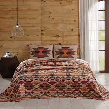 eldorado sienna southwest style quilt bedding set southwest