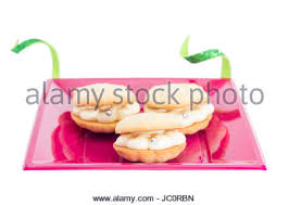 seashell shaped cookies shell shaped cookies with buttercream and pearl candy isolated on