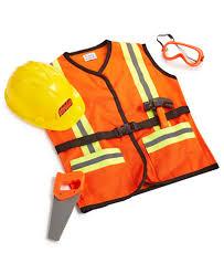 construction worker costume fao schwarz children s construction worker costume toys