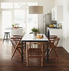Parsons Table  Walnut Soren Chairs By RB Modern Dining Room - Walnut dining room chairs