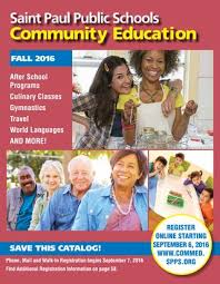 www google commed saint paul community education fall 2016 catalog of classes by