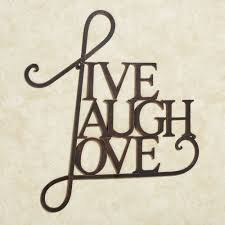 live laugh love art live laugh love metal word wall art