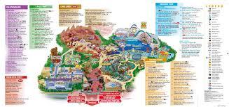 map of california adventure disney s california adventure park magical distractions