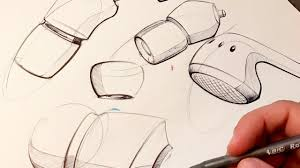Product Design Industrial Design Sketching How To Sketch With A Pen Youtube