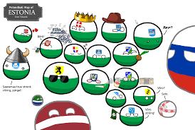 True Map Of The World by Polandball Map Of Estonia Maps Pinterest