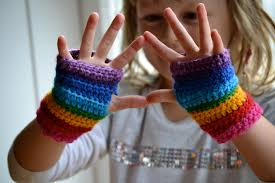 rainbow mitts for maia u2013 the green dragonfly