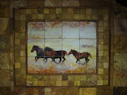kitchen tile backsplash murals tile murals