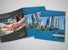 coolest real estate brochure design mercial real estate agents