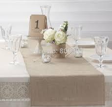 natural burlap table runner 35cm width burlap table runner for home natural burlap wedding candy