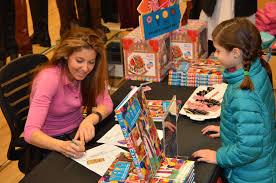 dylan lauren signs new book at darien sport shop darien news