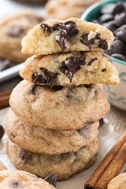 chocolate chip snickerdoodles crazy for crust
