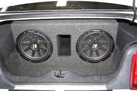 mustang convertible trunk audio 2005 2014 ford mustang sub box wichita falls tx