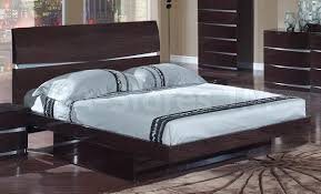 Wenge Bedroom Furniture Sale 2299 00 5 Pc Wenge Glossy Bedroom Set Bed Dresser