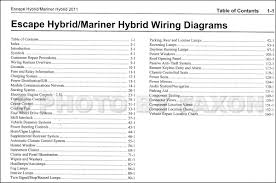 2011 ford escape hybrid mercury mariner hybrid wiring diagram