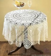 Crochet Table Cloth 55 Best Crochet Table Cloths Images On Pinterest Crochet Doilies