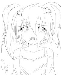 awesome anime girls coloring pages special picture colouring