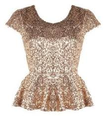 new year s tops gold sequin peplum top looove this definitely for new years