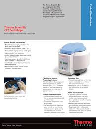 Bench Top Centrifuge Cl2 Benchtop Centrifuge Thermo Scientific Laboratory Equipment