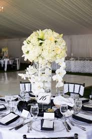 Tall Glass Vase Centerpiece Decorating Ideas Divine Picture Of White Wedding Design And