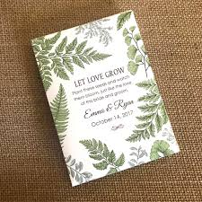 seed packets wedding favors new size diy custom seed packets kraft personalized envelopes