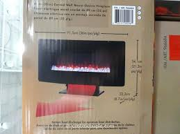 Electric Fireplace Costco Bayside Wall Mount Fireplace Costco Hanging Curved Electric