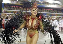 carnival brazil costumes a lavish feather winged costume is sported by this dancer from the