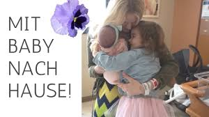 Haus E Mit Baby Nach Hause Endlich Zu Viert Daheim I 9 April 2017 Vlog