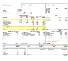 pay stub template for full time salaried employees free download