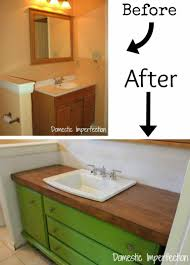 Build Bathroom Vanity Inspiring Fancy Diy Bathroom Vanity Makeover On Home Remodel Ideas