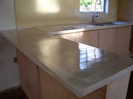 How To Make A Concrete Bench Top Pour In Place Concrete Countertops Poured Concrete Countertops