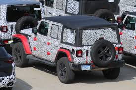 jl jeep release date 2018 jeep wrangler spy photos what every new jeep wrangler