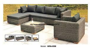 Wicker Table L Gary Rattan Sofa Classic L Shaped Vine Sofa Chair Table